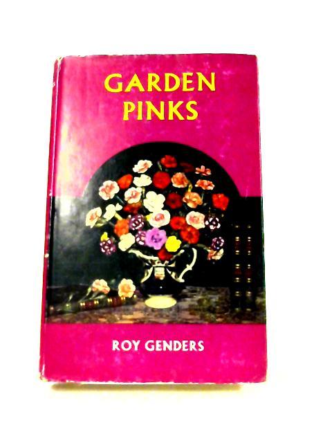 Garden Pinks by Roy Genders