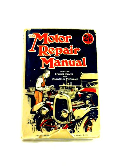 Motor Repair Manual By Anon