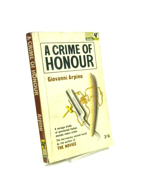 A Crime of Honour by Giovanni Arpino
