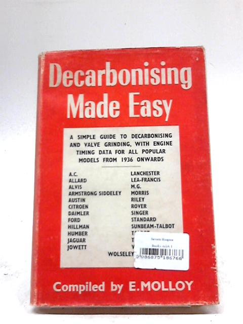 Decarbonising Made Easy By E. Molloy