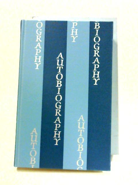 The Folio Anthology Of Autobiography by Angela Thirlwell (ed)