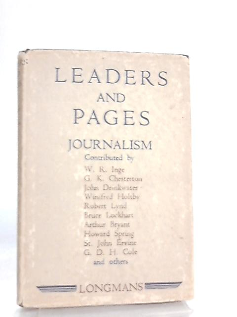 Leader And Pages by A. R. Moon