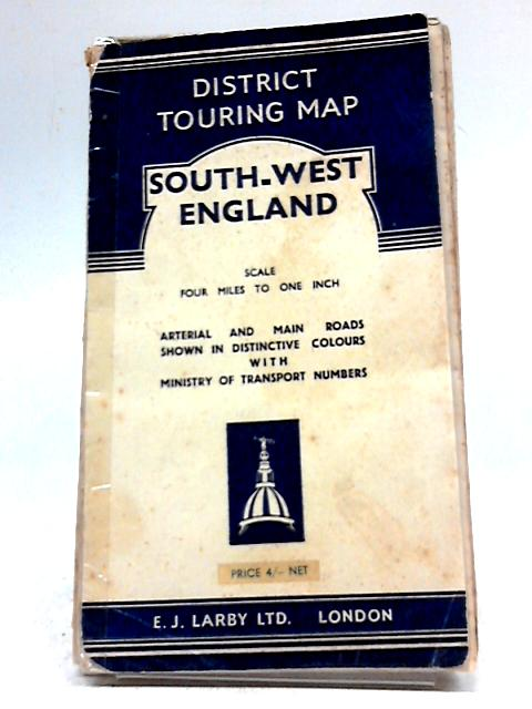 District Touring Map South-West England By E J Larby