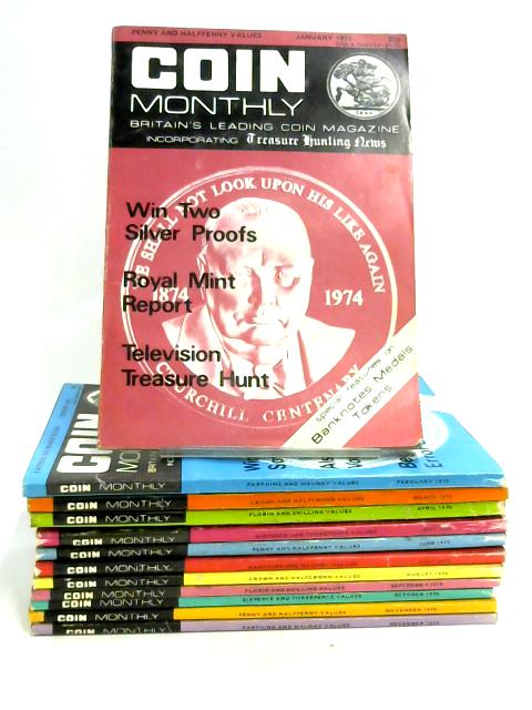 Coin Monthly: January - December 1975 (12 x Issues) By Williams & Linton