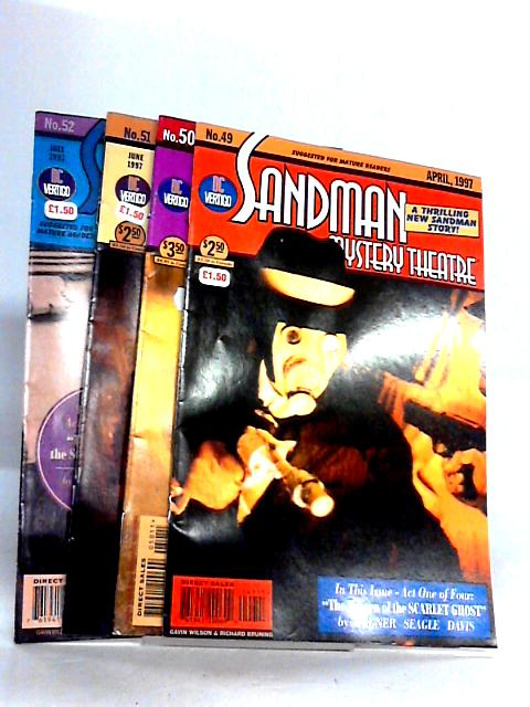 Sandman Mystery #49 - 52 The Return of the Scarlet Ghost by Wagner Seagle Davis