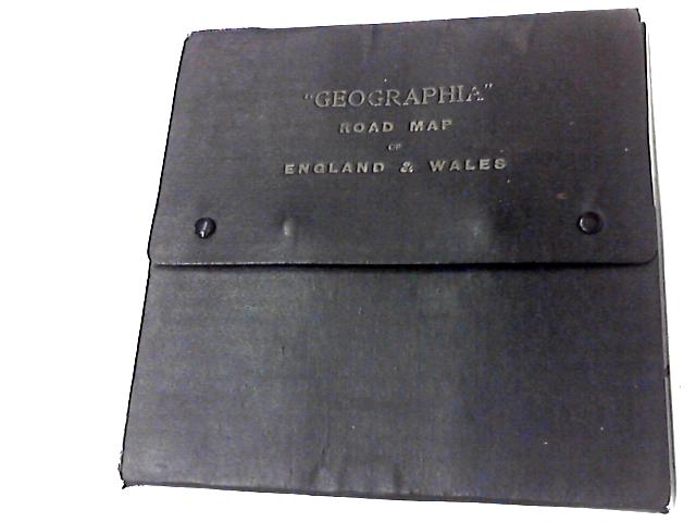 Geographia Sectionanl Road Map of England and Wales by Anon