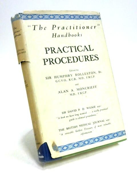 Practical Procedures by Moncrieff & Rolleston