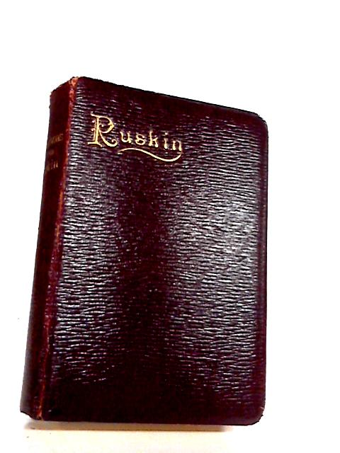 Selections From The Writings Of John Ruskin, by Ruskin, John