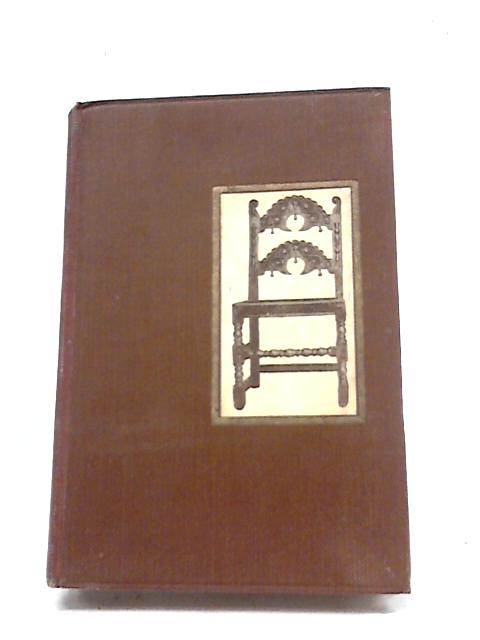Little Books About Old Furniture. Tudor To Stuart Volume 1 by Blake. J P. A. E Reviers-Hopkins