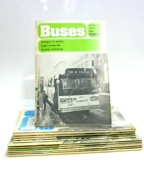 Buses Magazine: Jan - Dec 1980 (12 x Issues) by Anon