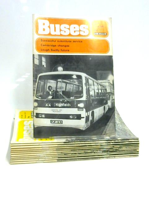 Buses Magazine: Jan - Dec 1977 (12 x Issues) by Anon