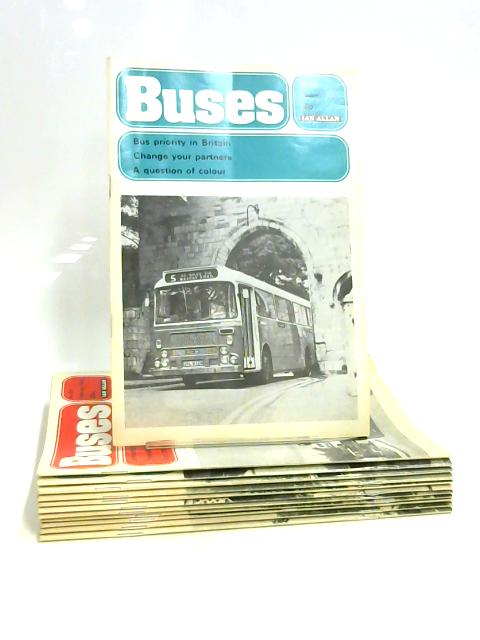 Buses Magazine: Jan - Dec 1975 (12 x Issues) By Anon