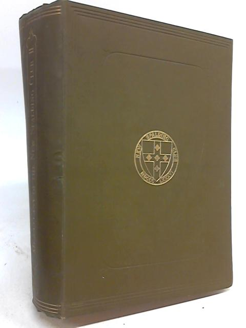 The Miscellany of the New Spalding Club: Volume Second by The New Spalding Club