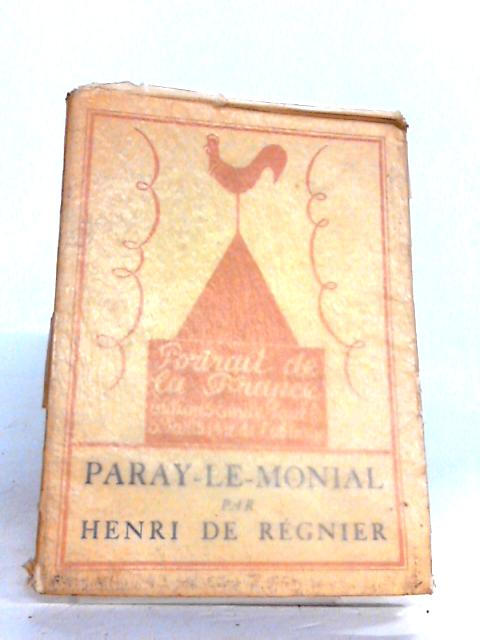 Paray-Le-Monial by Henri de Regnier
