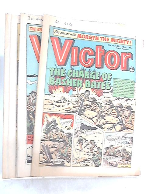 Victory Comic 1974 Nos 712, 716 & 719 By Anon