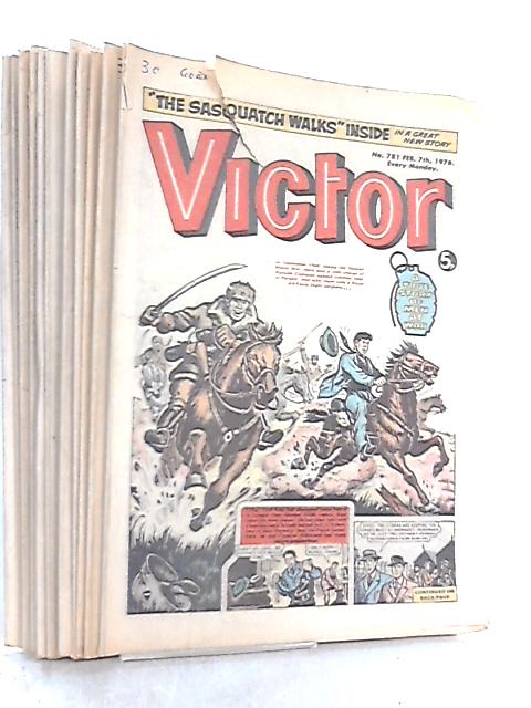 Victory Comic 1976 (x12 issues) Various Dates By Anon