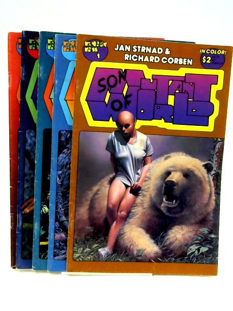 Son of mutant world #1-5 (5 x comic) by Jan Strnad & Richard Corben