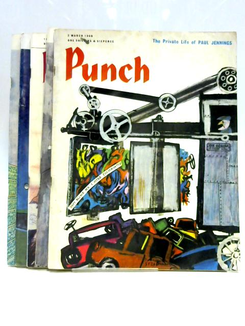 Punch March 1966 (5 x Issues) by Anon