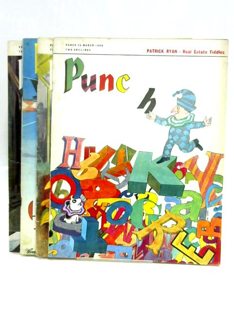 Punch March 1968 (4 x Issues) by Anon