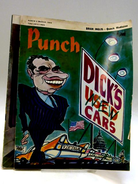 Punch March 5th and 26th 1969 (2 x issues) By Anon