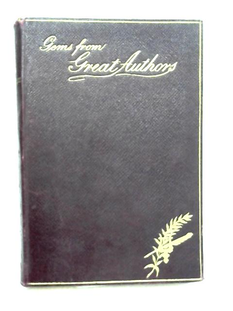Gems of Great Authors or the Philosophy of Reading and Thinking By John Tillotson