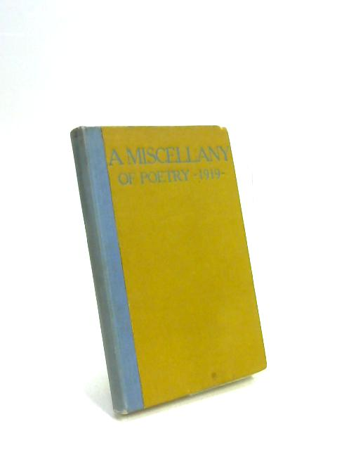 A Miscellany of Poetry 1919 by W. Kean Seymour