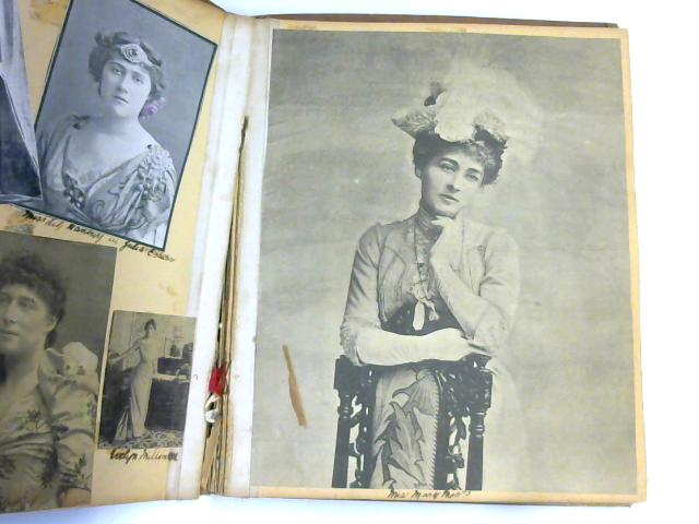 Scrapbook of Actresses c.1900-1920 By Unknown