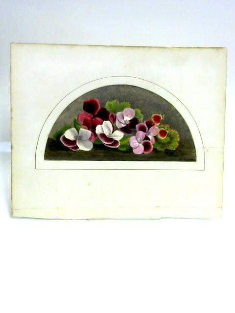 Painting of Flowers by M. Chase