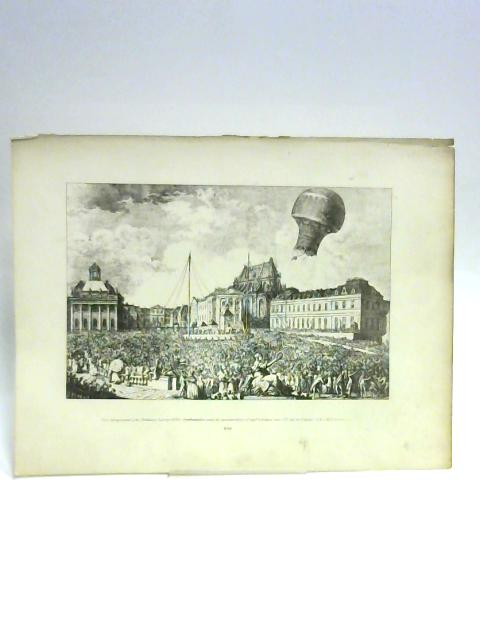 Print of a Crowd By Unknown