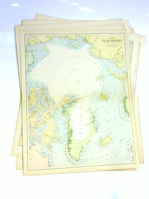 Set of 11 Mackenzie Maps by Unknown