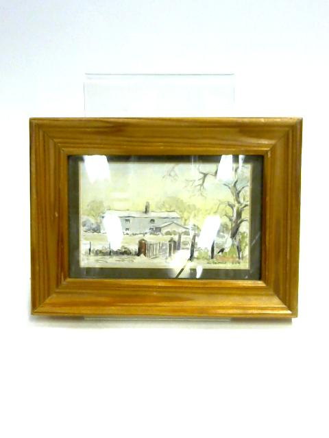 Framed Water Colour Painting by G. Farrell