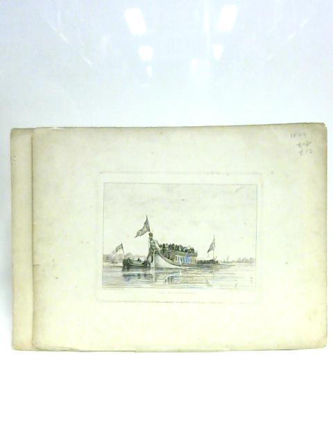 Set of Two Prints of Boats by E.W. Cooke