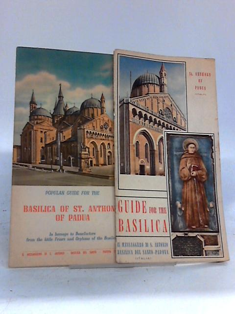 Popular Guide for the Basilica of St. Antony of Padua By Unknown