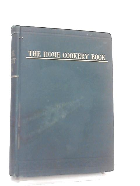 The Home Cookery Book By Anon