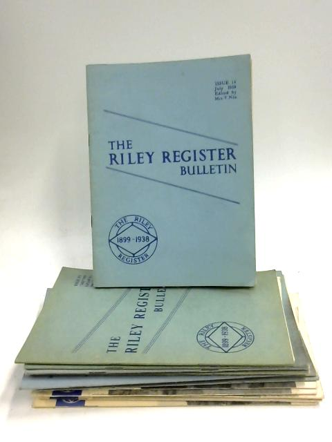 The Riley Register Bulletin 1958 - 1969 by Anon