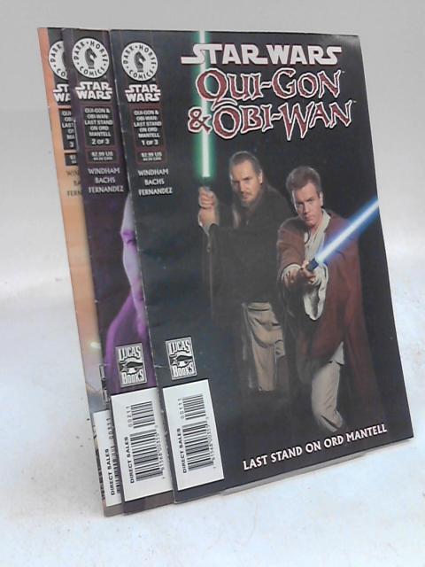 Star Wars Qui-Gon & Obi-Wan #1-3 by Windham, Bachs, Fernandez