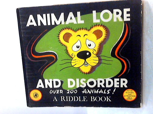 Animal Lore and Disorder by Unknown