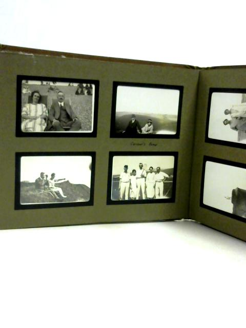 Photo Album Of Folksone Holiday 1925 By Unknown