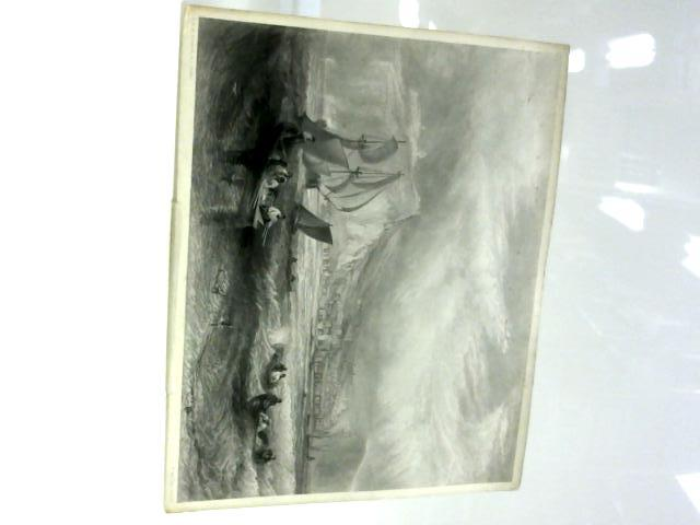 Vintage B&W Picture (print) Line Fishing Off Hasting`s. By J M W Turner