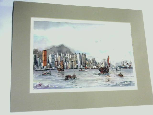 Colour Water Scene (print) 27cm by 33cm By Unknown