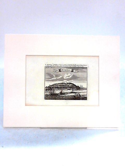 Ioppa Sea Scene Book Plate in Beige Mount By Anon