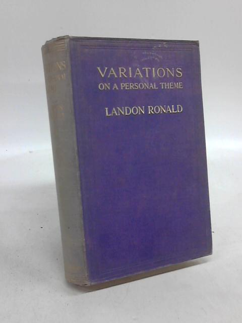 Variations on a Personal Theme by Landon Ronald