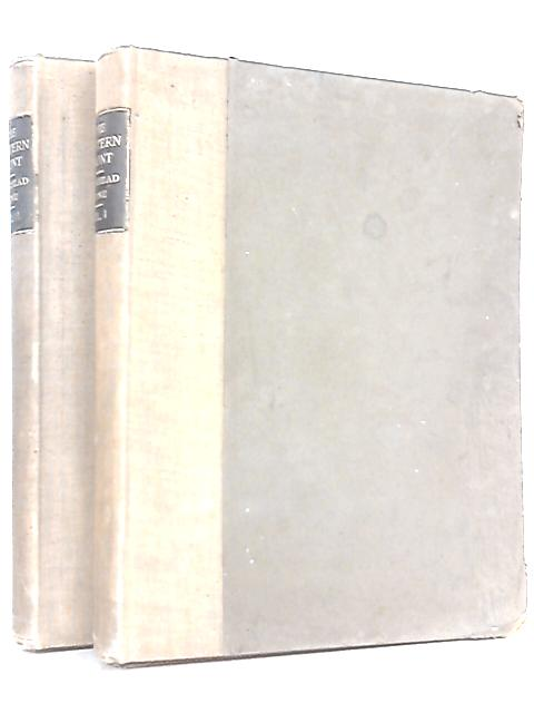 The Western Front Volumes I and II by Text By C. E. Montague