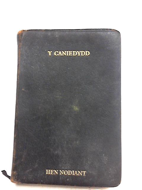 Y caniedydd by Unknown