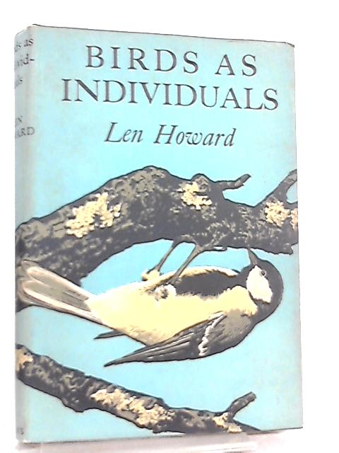 Birds as Individuals by Len Howard