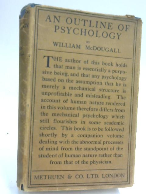 An Outline of Psychology by William McDougall