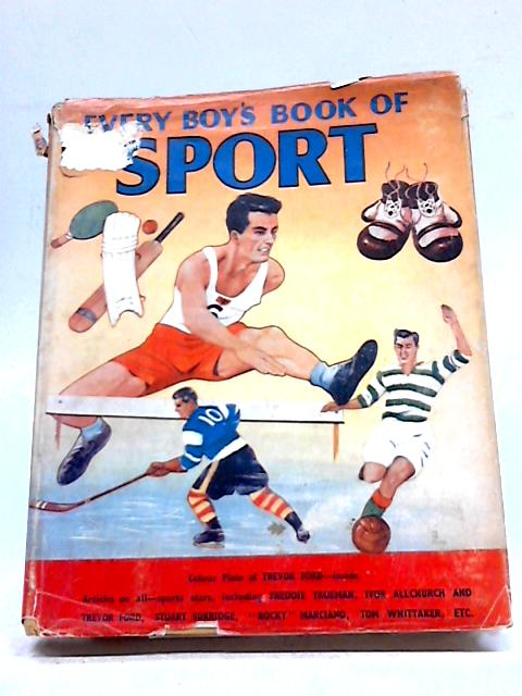 Every Boys Book of Sport for 1954 by Annual