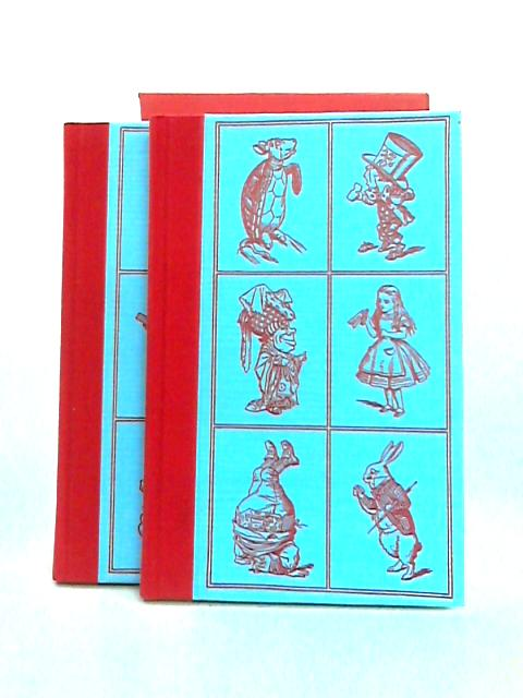 Through the Looking-Glass and Alice's Adventures in Wonderland 2 vols. in Slipcase by Lewis Carroll