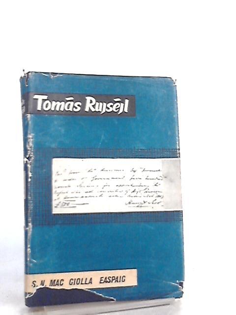 Tomas Ruiseil by Seamus N. Mac Giolla Easpaig