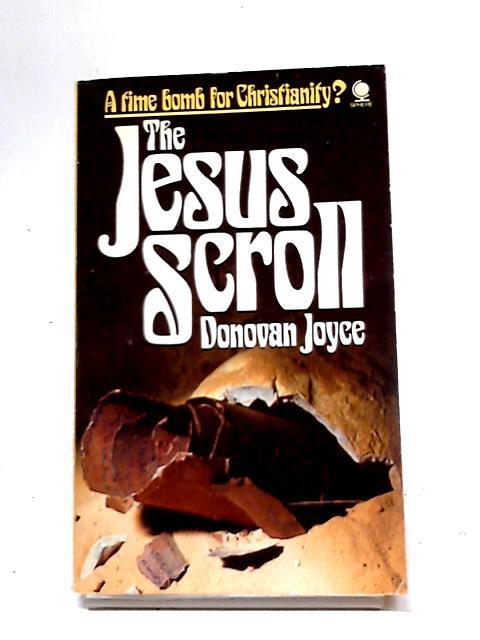 The Jesus Scroll by Donovan Joyce